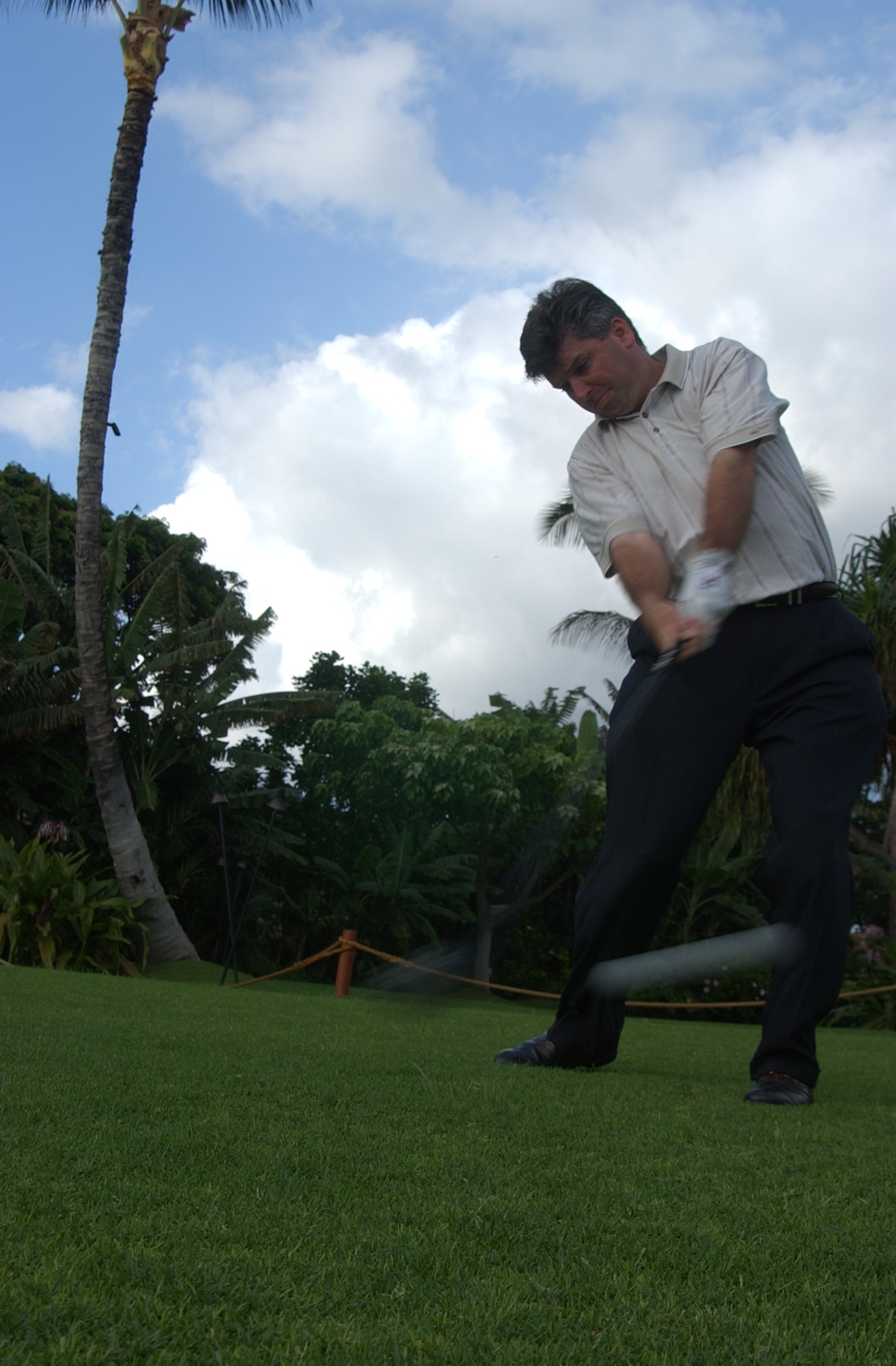 How to hit the ball
