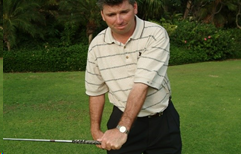Your lead, left arm in the golf swing - Be the smartest